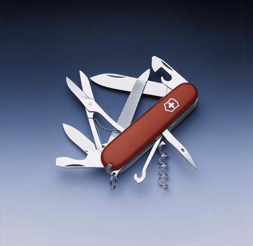 Нож Victorinox Mountaineer, 91 мм, 18 функций, красный*