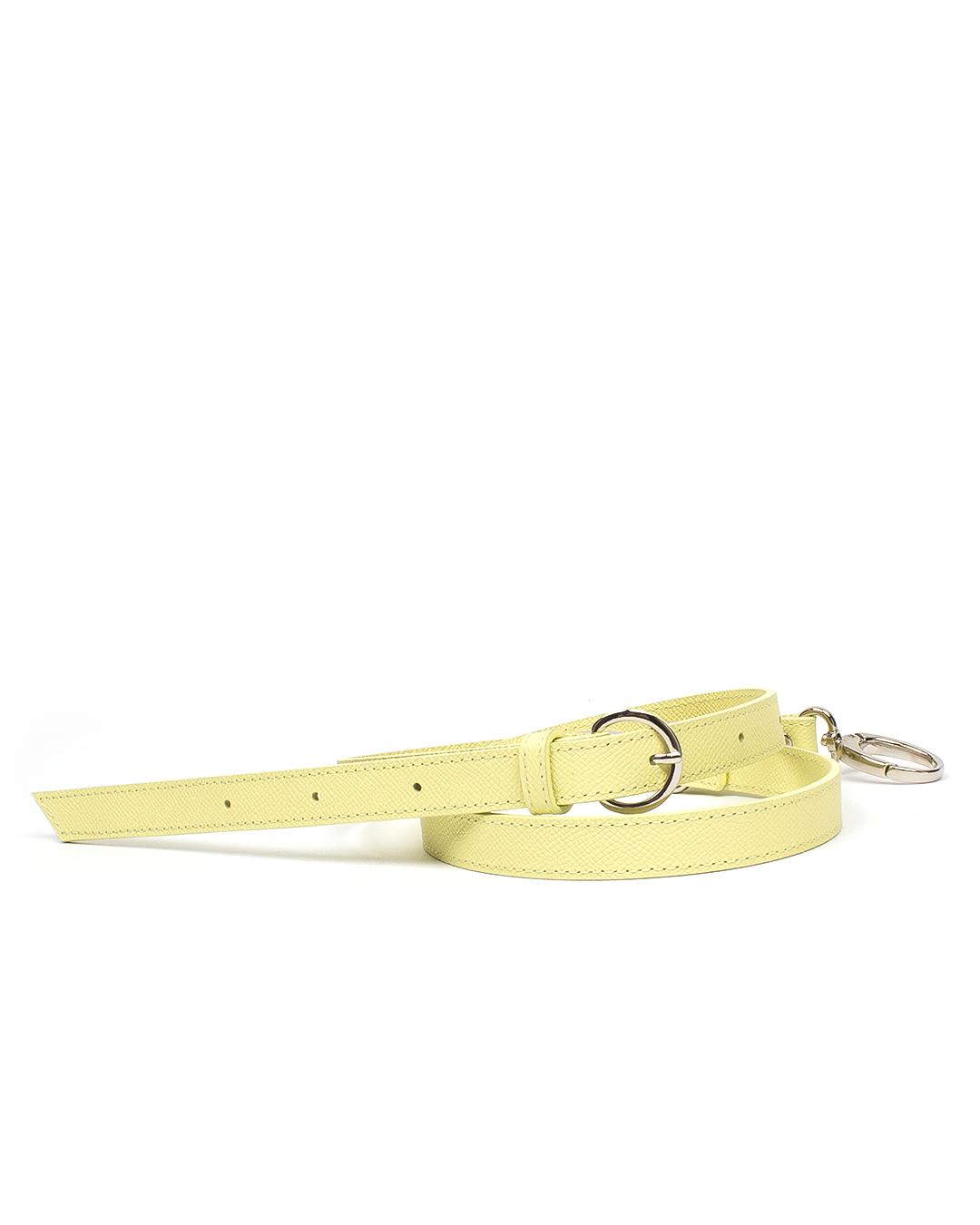 Тонкий плечевой ремень из сафьяна Banana
