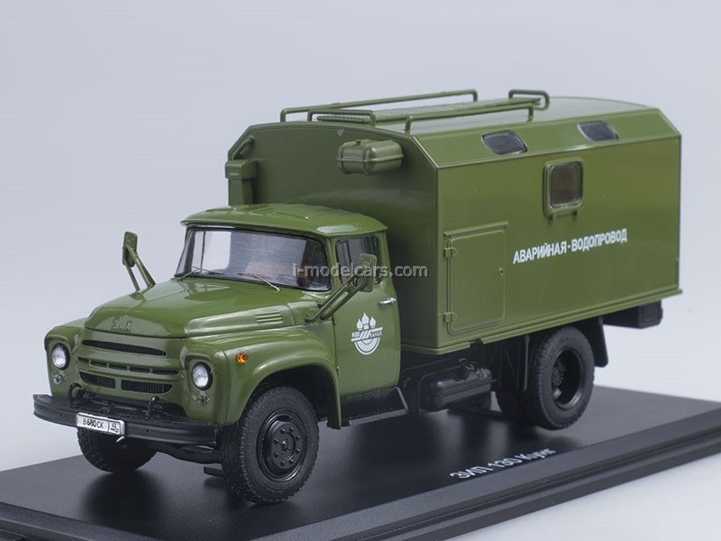 ZIL-130 KUNG Emergency Plumbing early 1:43 Start Scale Models (SSM)