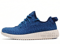 Кроссовки Мужские Adidas Originals Yeezy 350 Boost Blue