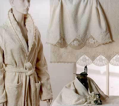 Наборы полотенец Набор полотенец 2 шт Lady Laura Martina белый italyanskoe-polotence-martina-ot-lady-laura.jpg