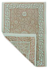 Полотенце 100x150 Leitner бирюзовое