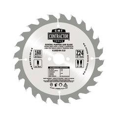 Пильный диск Contractor 160x2.2/1.4x20 Z40 ATB