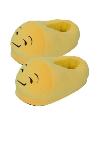 "Тапочки Emoji ""Ухмылка"""