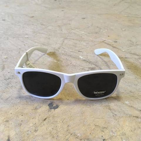 Очки Bones wheels Rat Sunglasses White