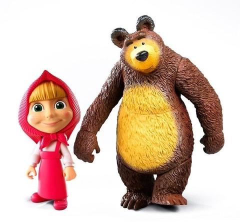 Маша и Медведь набор фигурок
