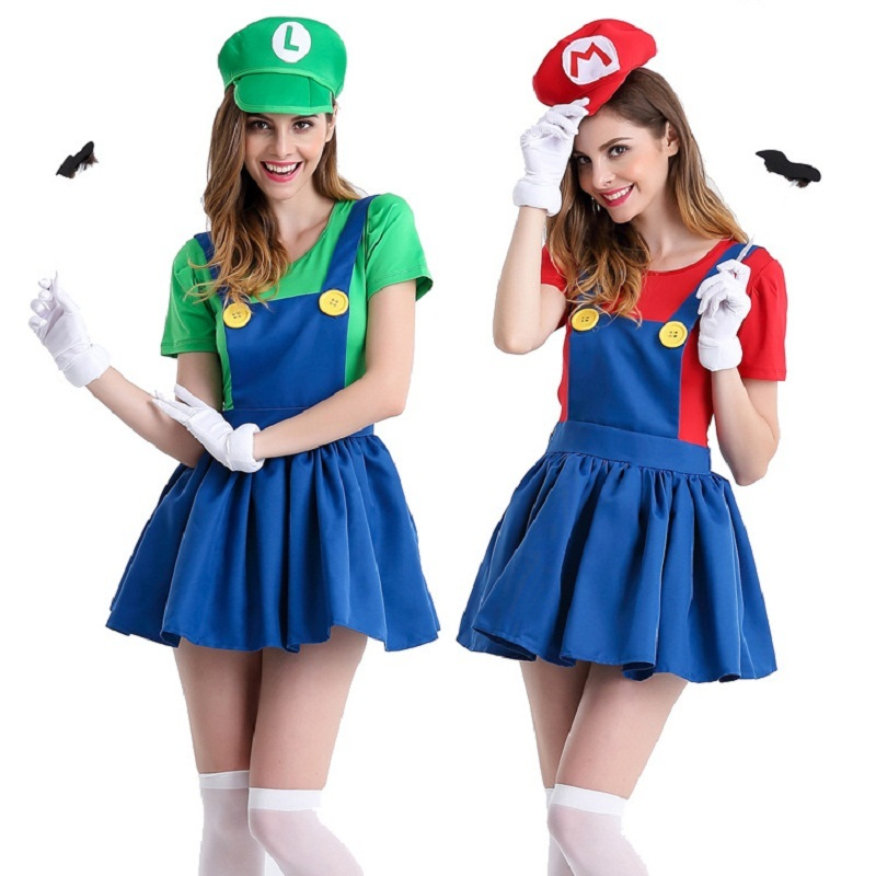 Супер Марио костюм для взрослых