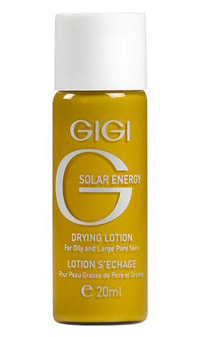 Gigi Solar Drying Lotion, Лосьон-болтушка подсушивающий, 20 мл.