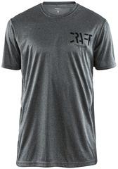 Футболка беговая Craft Eaze SS Graphic Grey мужская