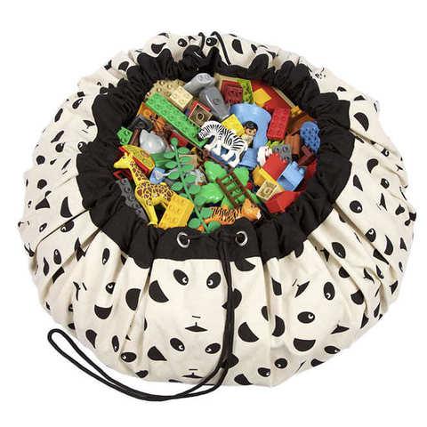 Коврик-мешок для игрушек (2 в 1) Play&Go Designer ПАНДА 79968