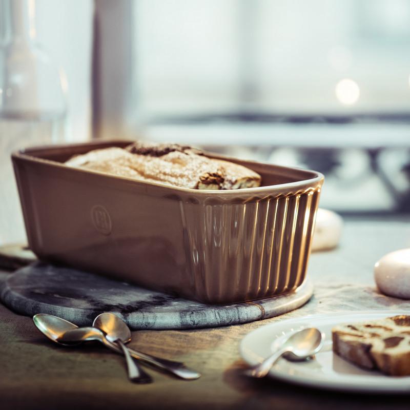 Форма Small Loaf Dish для выпечки Emile Henry (слоновая кость)