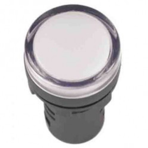 Лампа AD-16DS(LED)матрица d16мм белый 24В AC/DC TDM