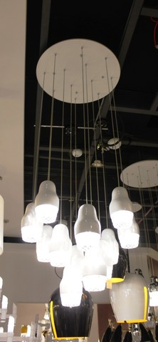 replica of Axo Light Fedora SP 9  pendant lamp ( WHITE )