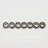 Винтажный декоративный элемент - разделитель 32х5 мм (оксид серебра)