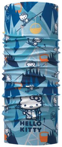 Многофункциональная бандана-труба детская Buff Ski Day Turquoise