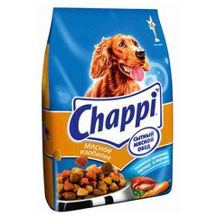 Chappi Мясное изобилие корм для собак всех пород