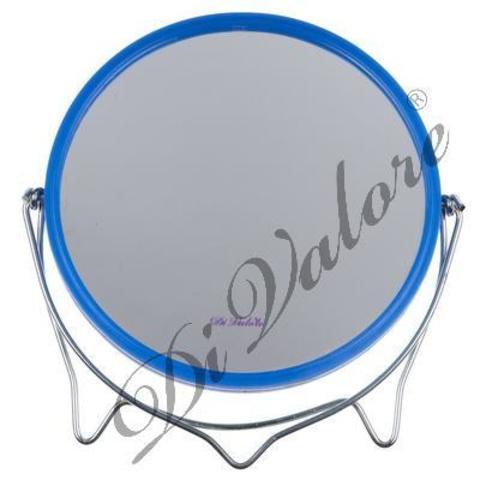 Di Valore Зеркало настольное круглое Синее 114-022