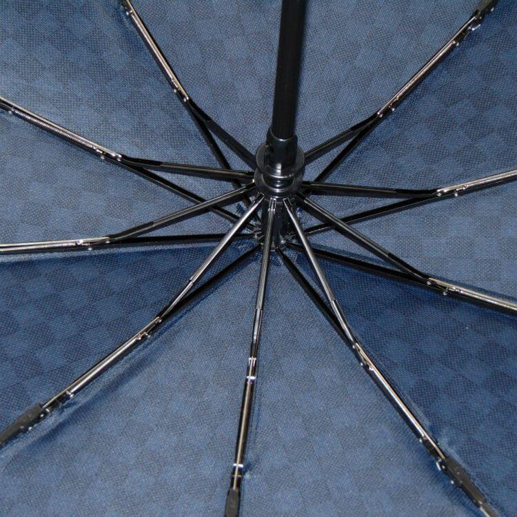 Зонт складной Ferre GF-577-2-Fantasia scacchi blu