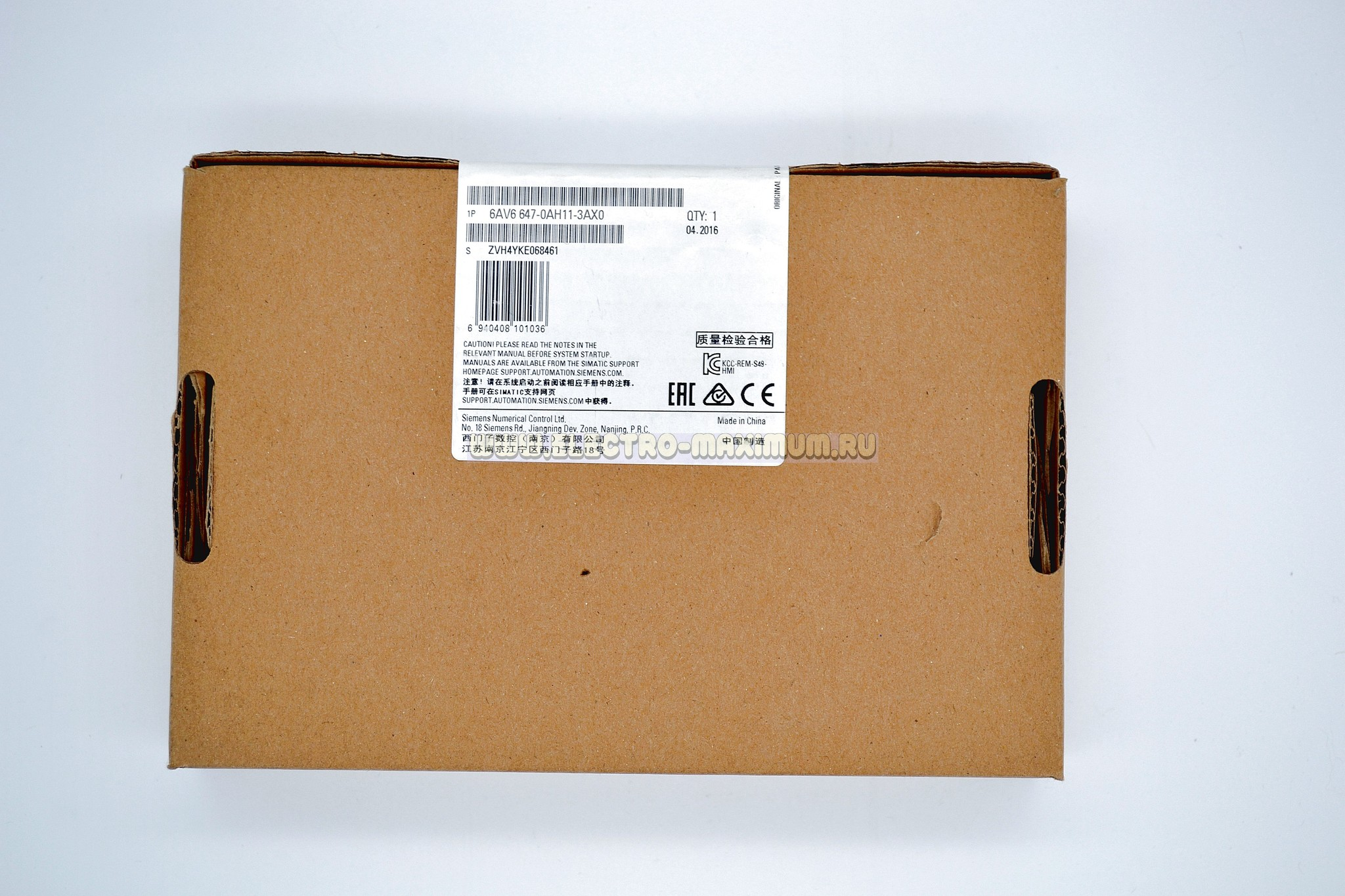 SIEMENS SIMATIC HMI KP300 Basic 6AV6 647-0AH11-3AX0