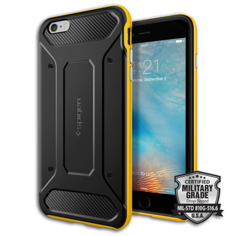 Spigen SGP Case Neo Hybrid Carbon for iPhone 6S Plus / 6 Plus Reventon Yellow SGP11667