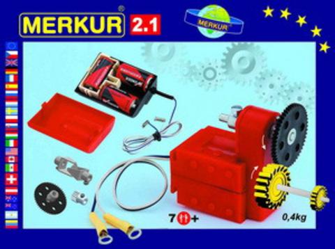 Merkur M-3215 Металлический конструктор Электромотор M 2.1