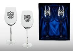 Подарочный набор бокалов для красного вина «Державный»