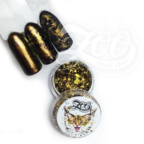 Хлопья Юки (золотой, бронзовый)