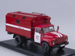 ZIL-130 KUNG Fire Engine late 1:43 Start Scale Models (SSM)