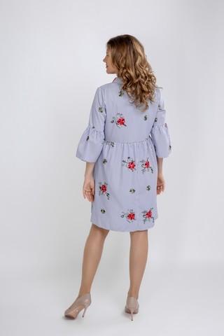 Платье 09597 полоска