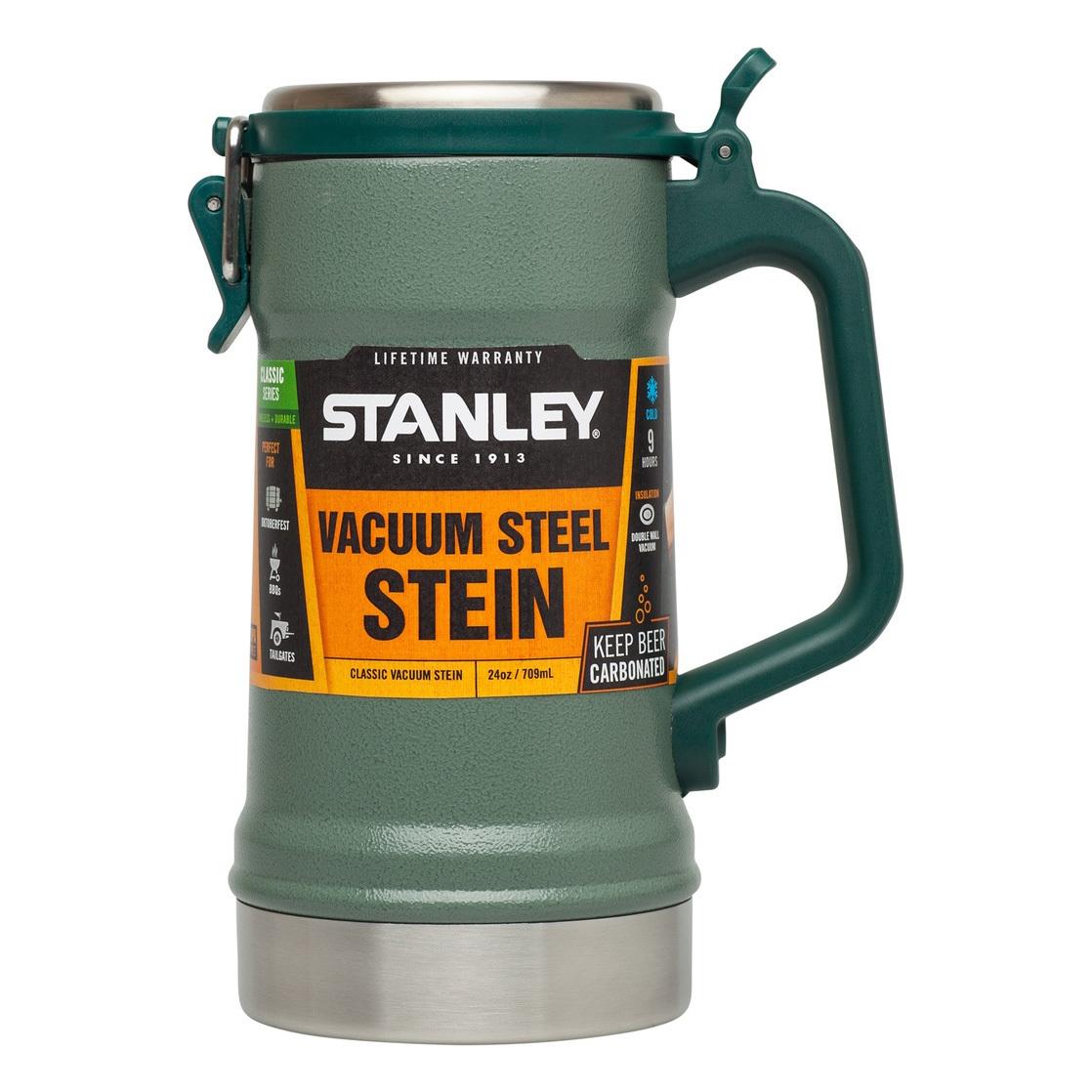 Термокружка Stanley Classic (0,71 литра) зеленая
