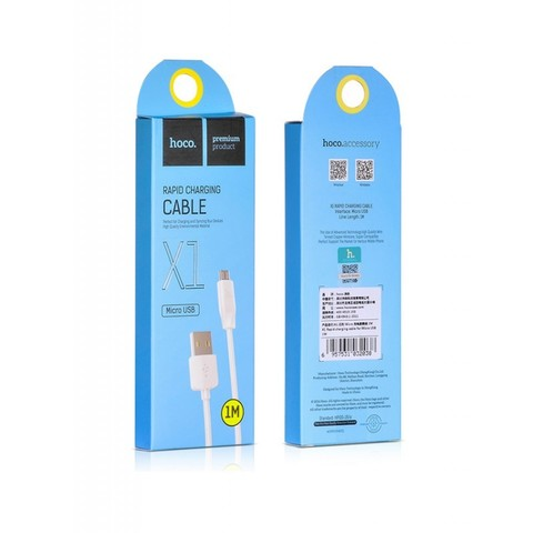 Купить кабель Micro USB Hoco X1 1 метр