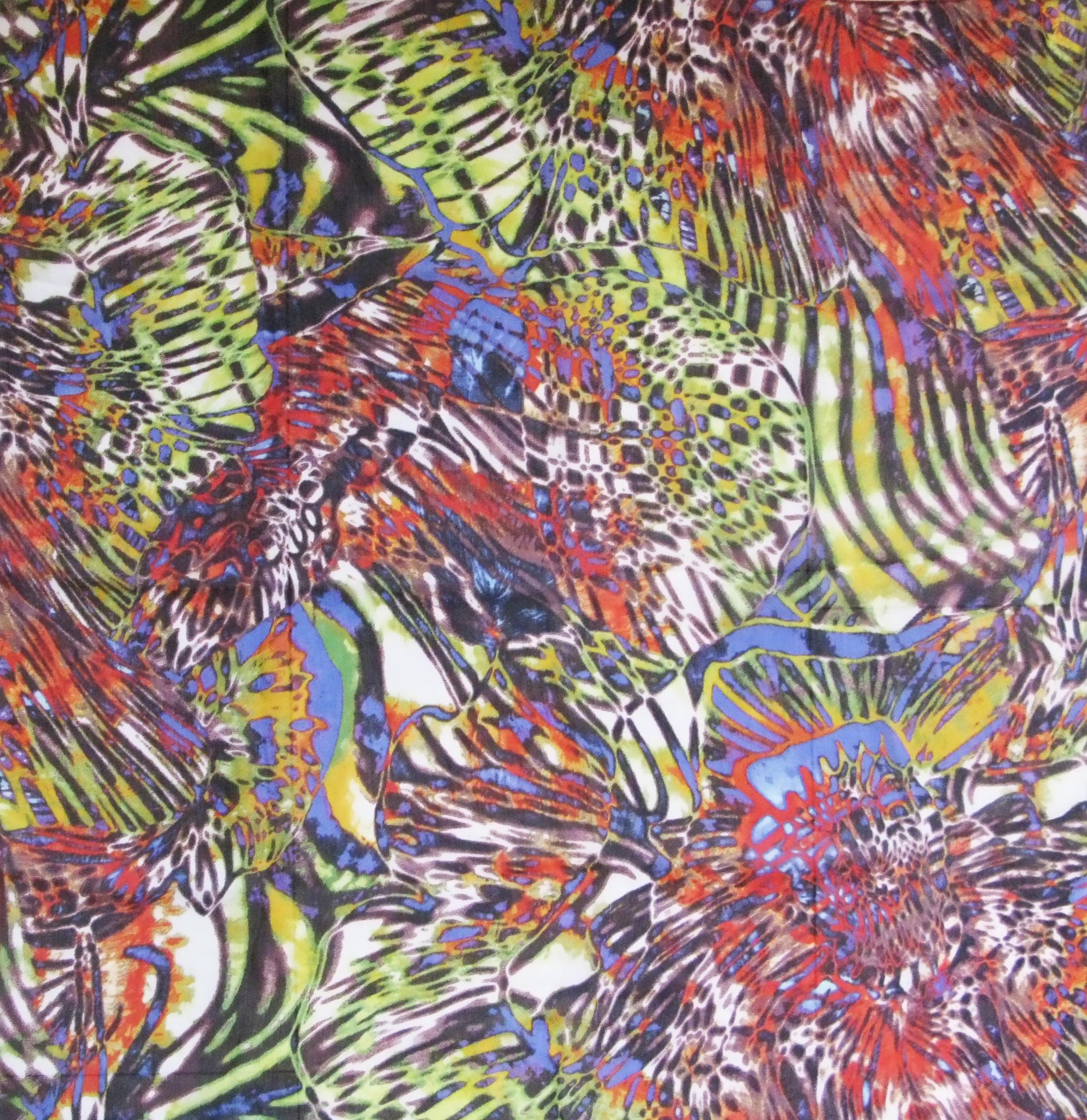 Платок У002-189 - Платок – изюминка вашего осеннего гардероба. Аркий анималистичный принт подойдет как для осеннего пальто, так и в сочетании с платьем или блузой. 100 %-ая вискоза привлекает своей мягкостью и гладкостью шелка, дышащими и впитывающими свойствами, яркостью и стойкостью цвета. В современное время очень сложно представить гардероб женщины без шарфа или платка. Правильно подобранный, он сделает любую женщину стильной.