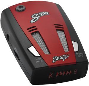 Автомобильный радар-детектор Stinger S550