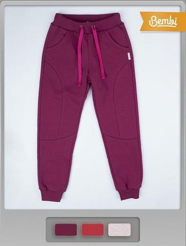 ШР364 Спортивные брюки для девочки с начесом