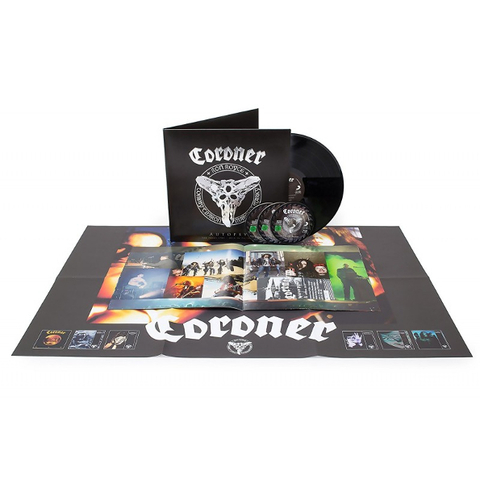 Coroner / Autopsy - The Years 1985 - 2014 In Pictures (LP+3Blu-ray)