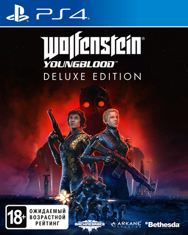 PS4 Wolfenstein: Youngblood. Deluxe Edition (русская версия)