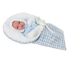 Munecas Antonio Juan Кукла-младенец Луис, озвуч., 34 см (7024B)