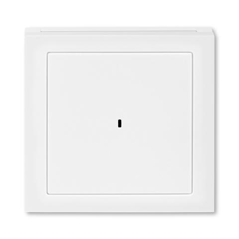 Лицевая панель карточного выключателя. Цвет Белый / белый. ABB. Levit(Левит). 2CHH590700A4003