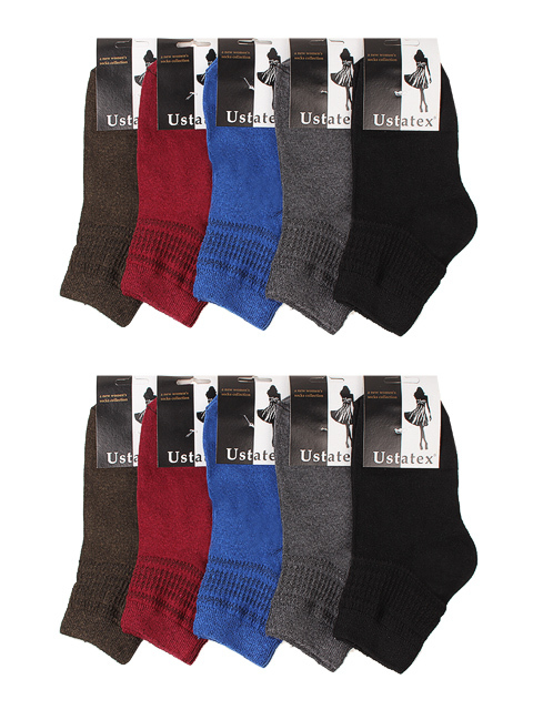 2C17 носки женские цветные 23-25 (10 шт)