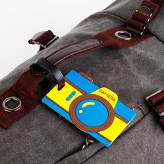Бирка на рюкзак в виде фотика