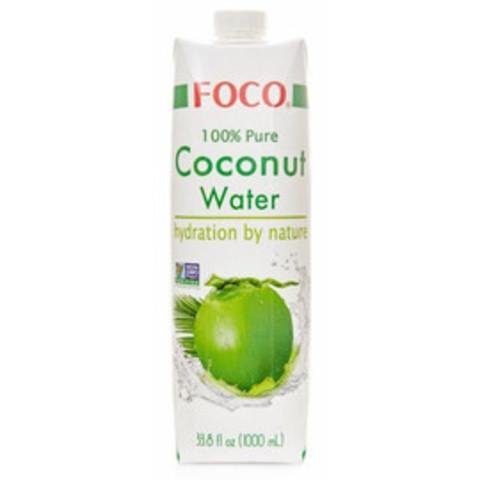Кокосовая вода FOCO, 1 л