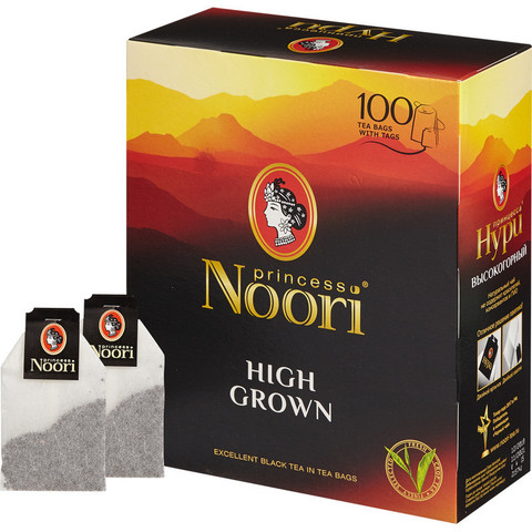 Чай Принцесса Нури черный 100пак/уп