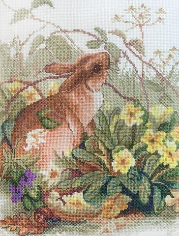 Апрель по рисунку Эдит Холден