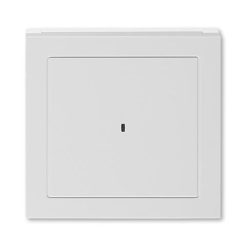 Лицевая панель карточного выключателя. Цвет Серый / белый. ABB. Levit(Левит). 2CHH590700A4016
