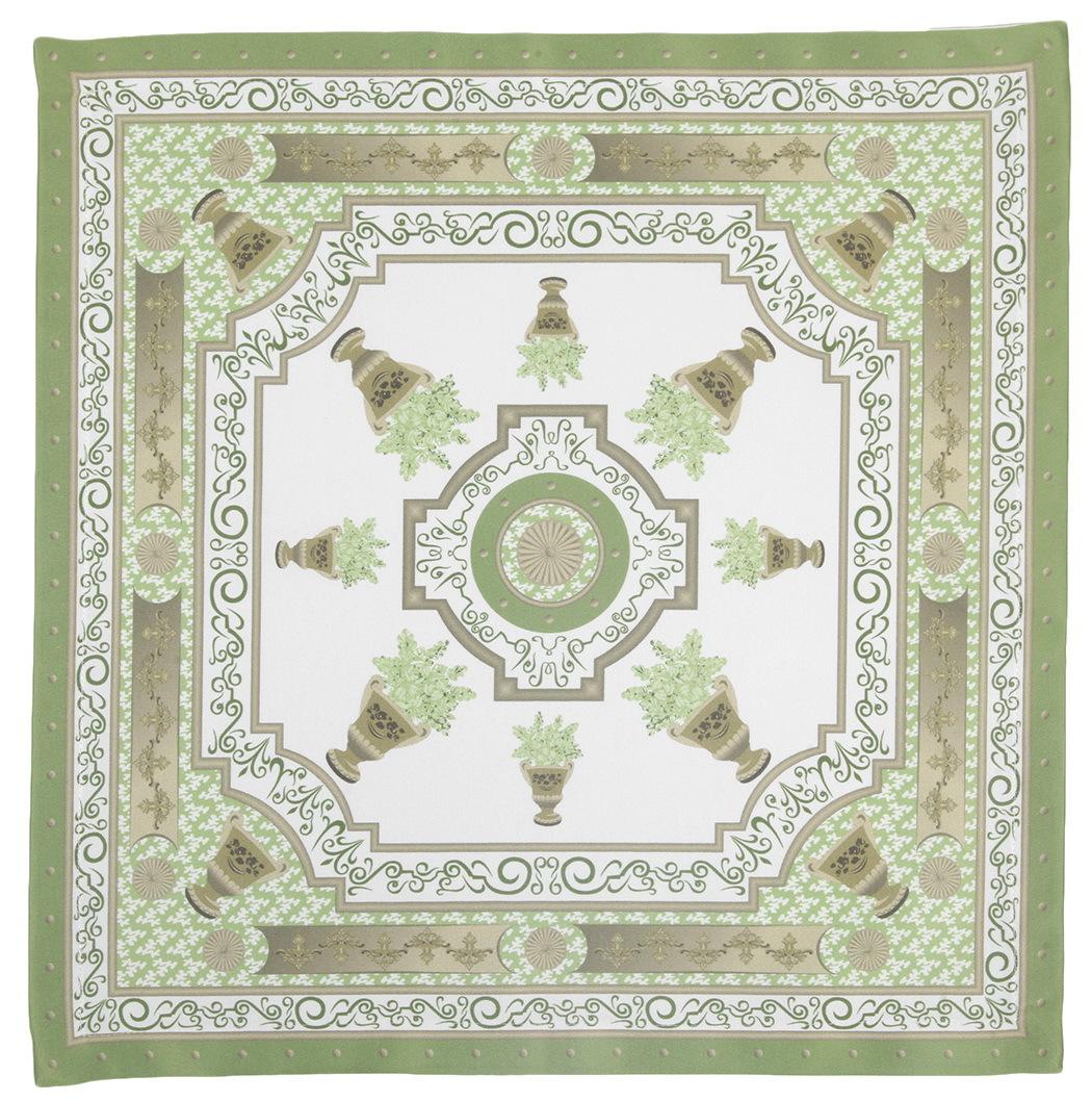 Салфетки 40x40 Blonder Home Rosetta зелёные