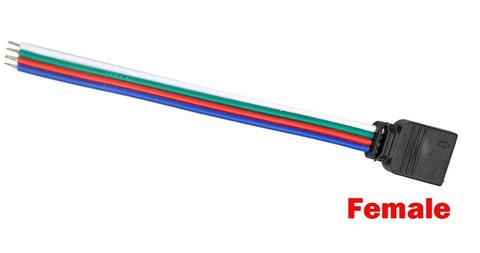 Разъем 4 Pin RGB Female Cable