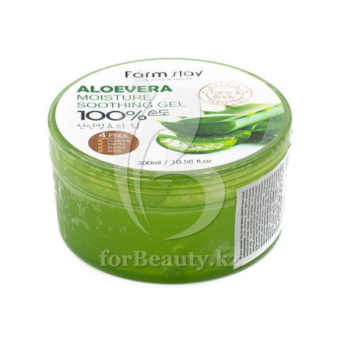 FarmStay Aloe Vera Moisture Soothing Gel 100%