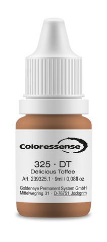 Delicious Toffee • 9 мл • Coloressense • пигмент-концентрат для бровей • DT