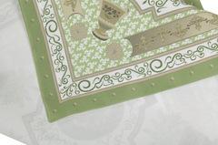 Салфетки 4 шт 40x40 Blonder Home Rosetta фисташковые
