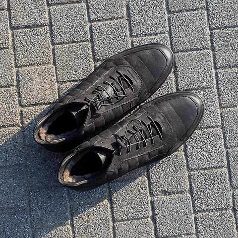 Зимние мужские ботинки с удобной застежкой